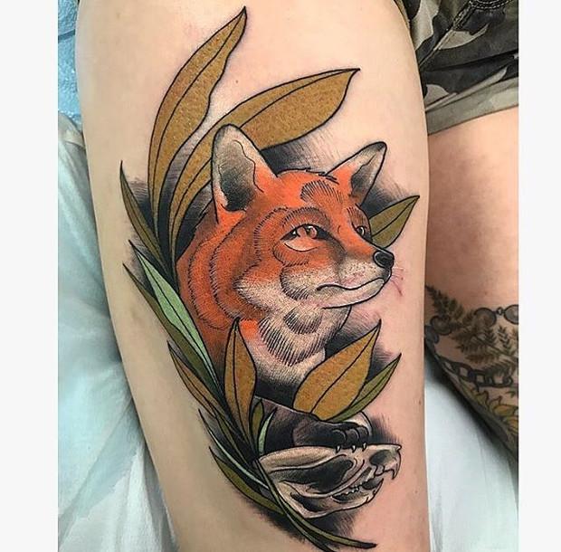 Fox by Galen Holland
