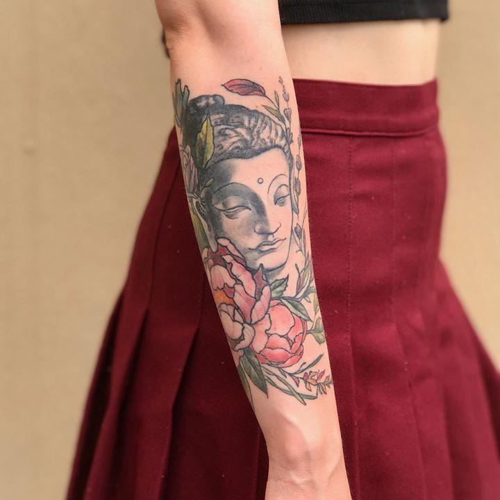 Forearm Tattoo by Becka