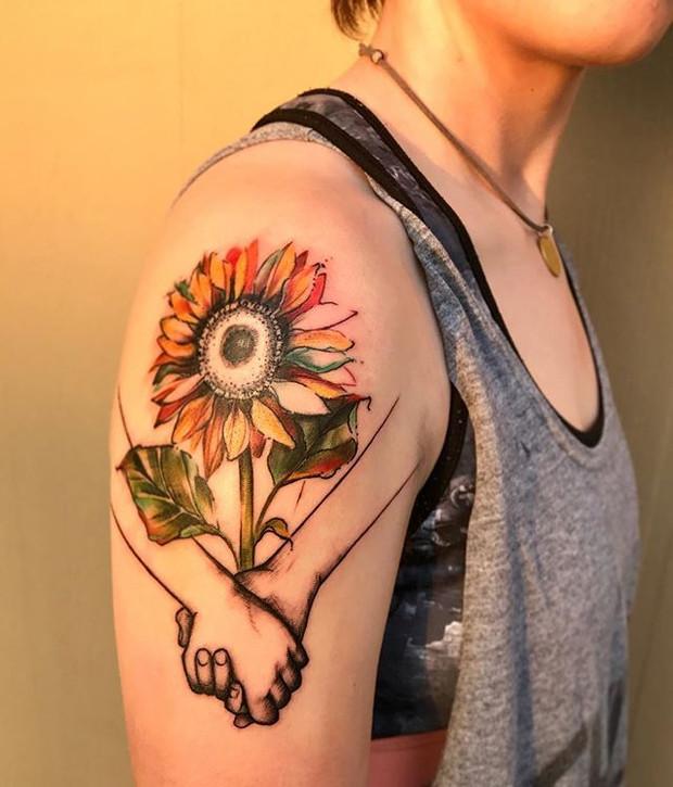Tattoo by Becka Schoedel