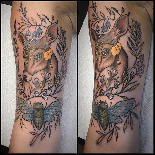 Tattoo by Hayley Halbach