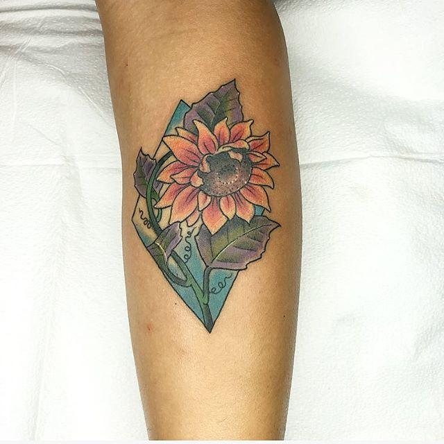 Sunflower by Galen