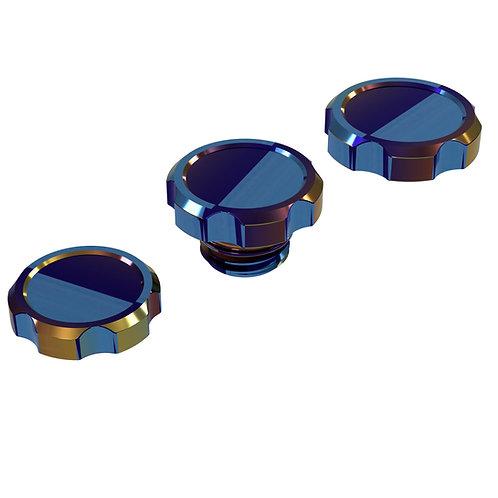 ClubSpec Gr5 Titanium Fluid Cap Collection
