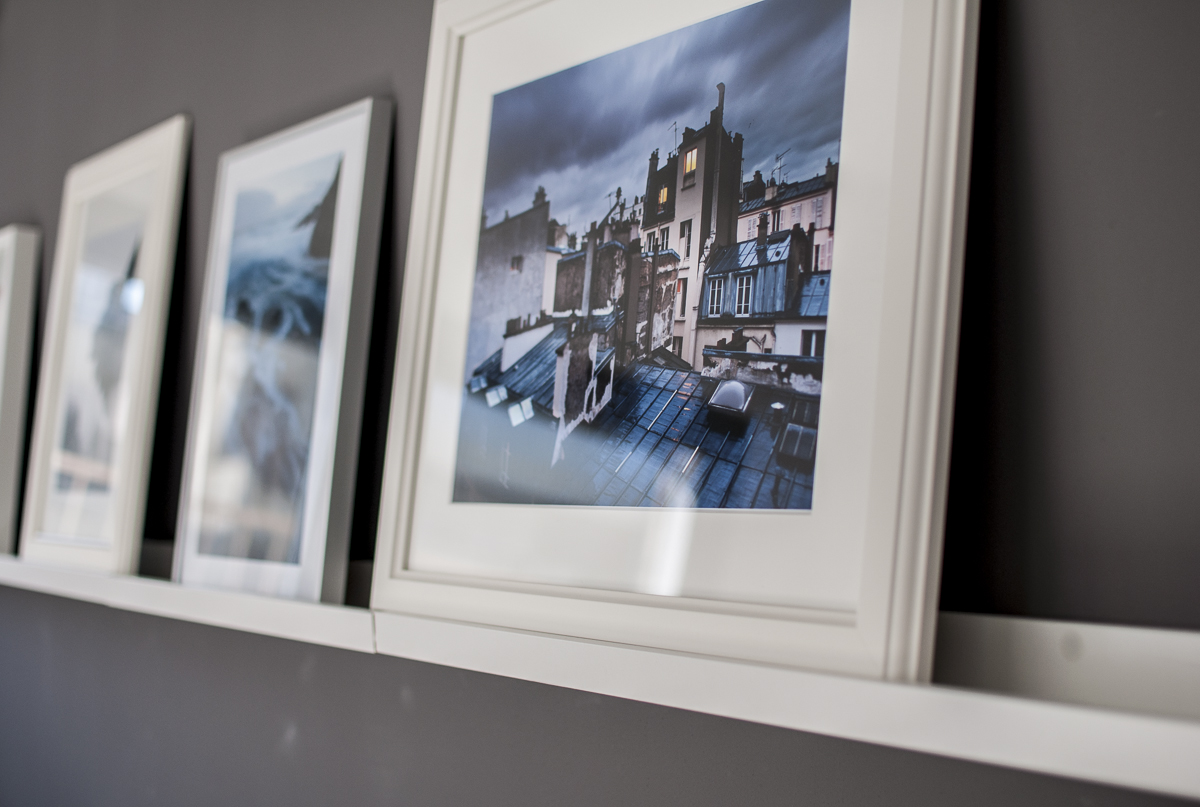 תמונות אווירה בסלון