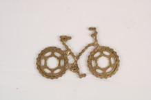 אופניים מוזהבים