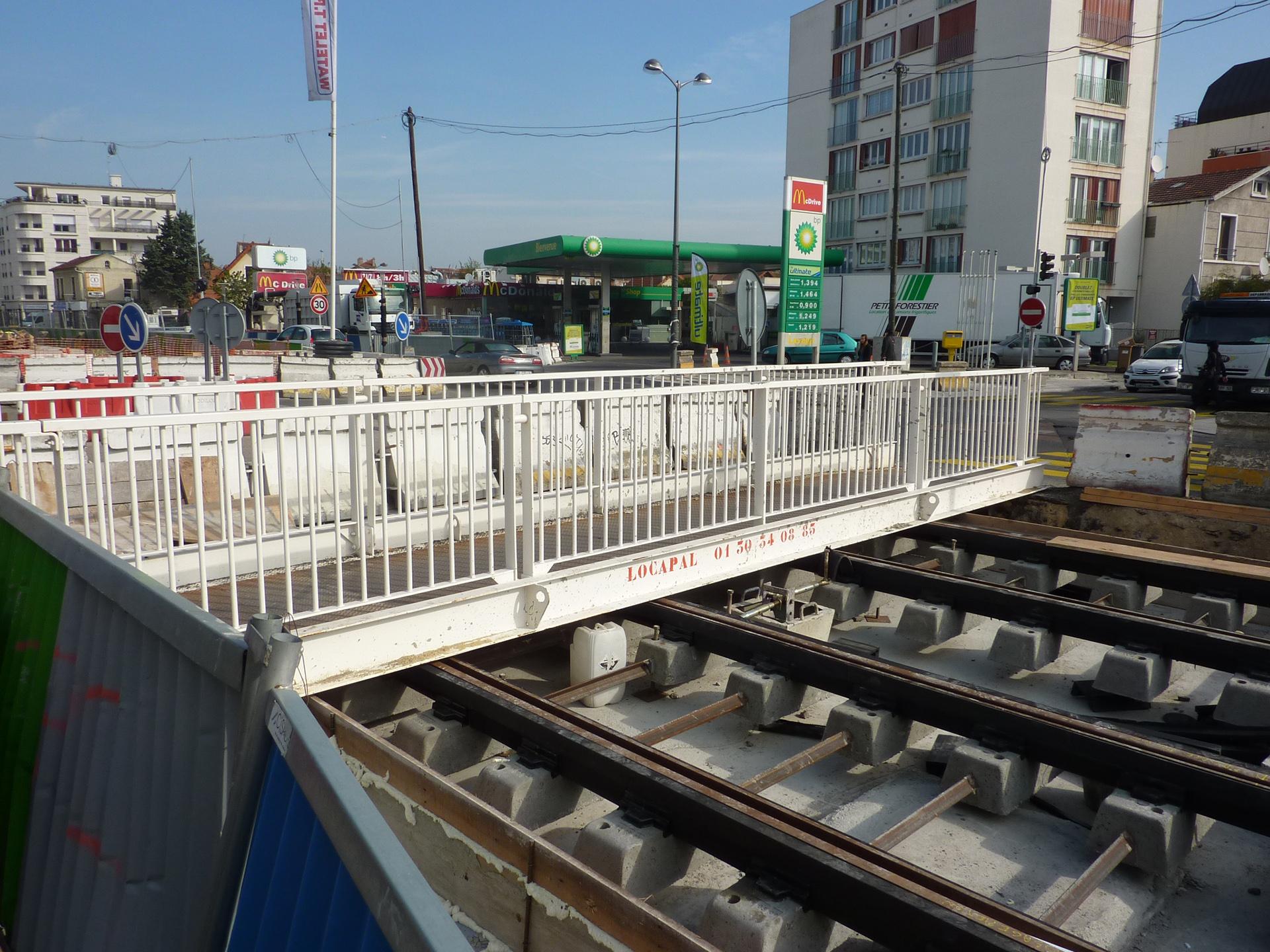Passerelle Pieton Tram 9m