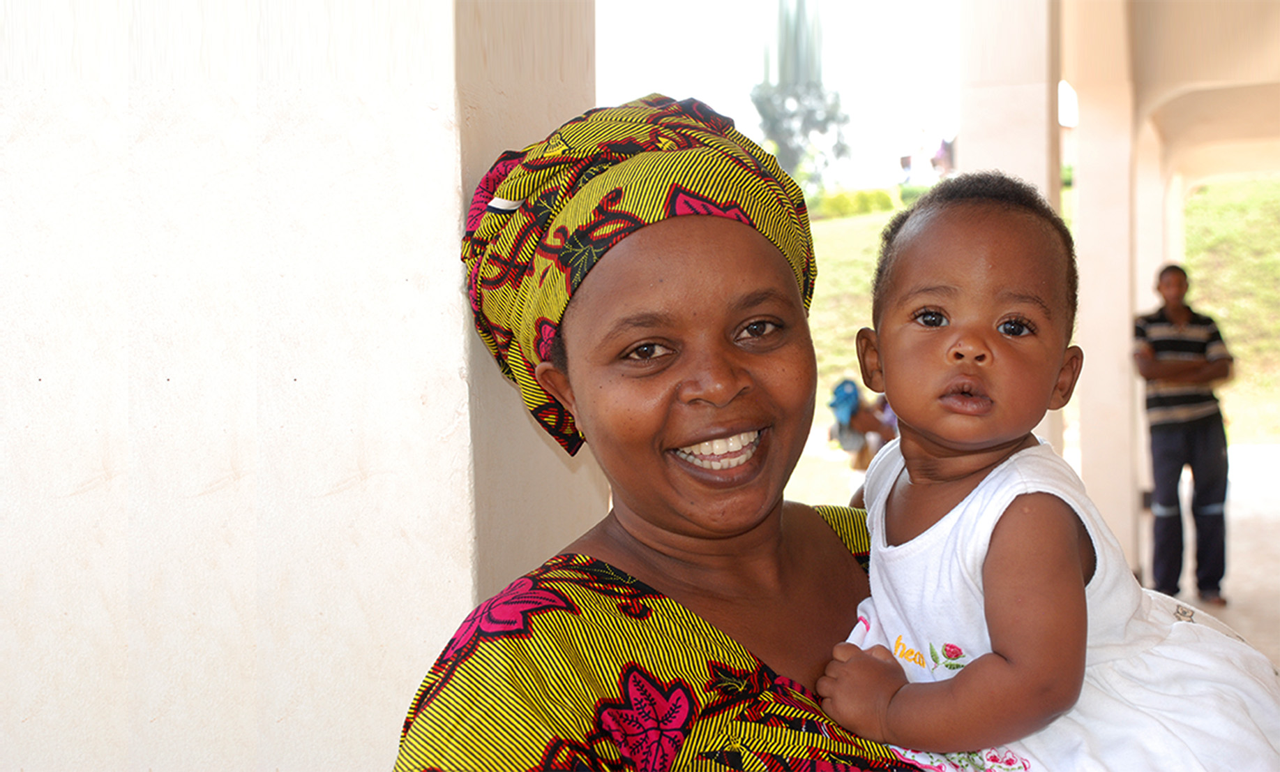 mother and child in Rwanda