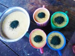 Spirulina Porridge