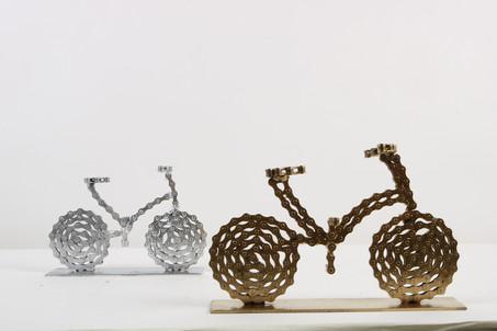 Golden & Silver Bikey