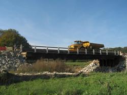 Pont provisoire Dumper