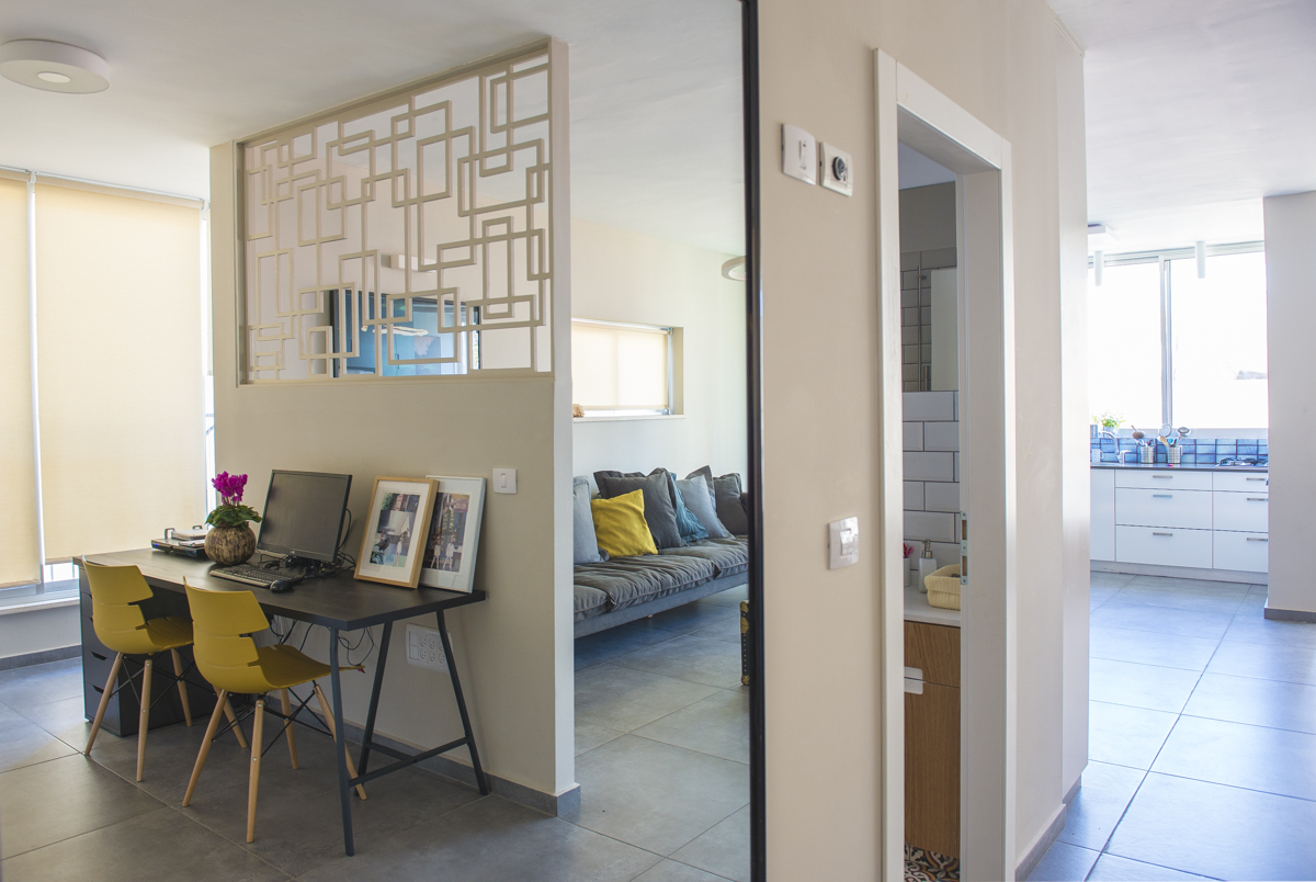 עיצוב דירות בתל אביב | מרב שדה - תכנון ועיצוב פנים