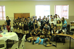 Participating pupils - group photo