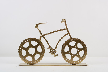 Golden Bicycles on Base