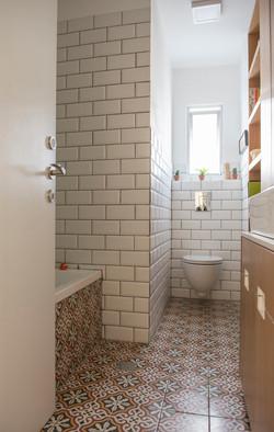 שיפוץ דירה - אמבטיה | מרב שדה - תכנון ועיצוב פנים