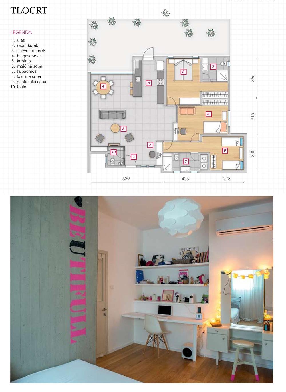שיפוץ והרחבה בית קרקע ברמת יוחנן - תכנון ריצפת חדר נוער