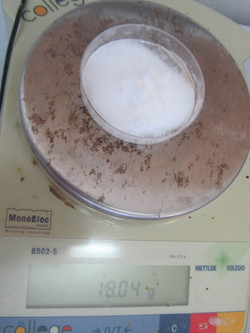 Measuring salts on Scales
