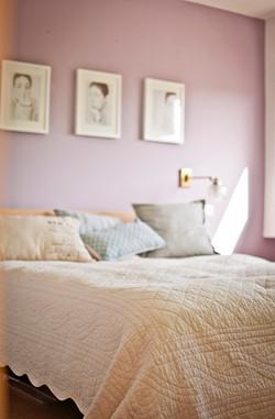 חדר שינה ראשי על הגג - המיטה 2