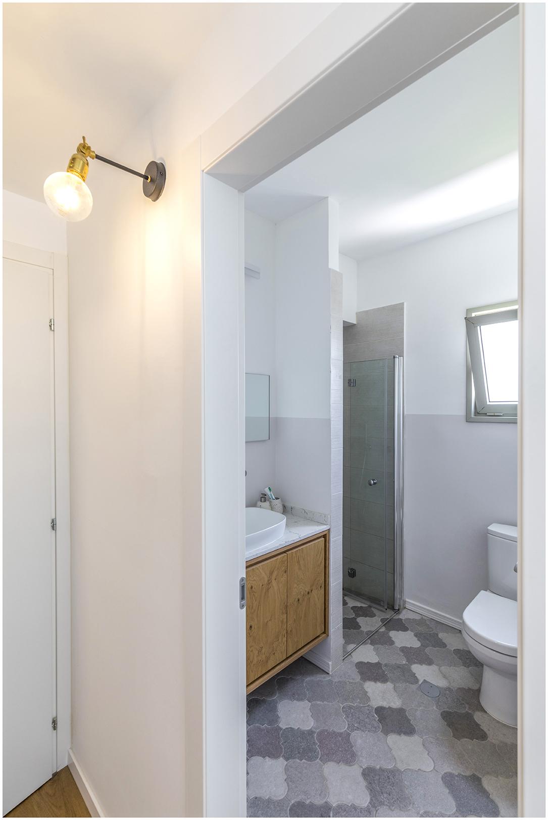 דירה בצפון תל אביב - חדר רחצה