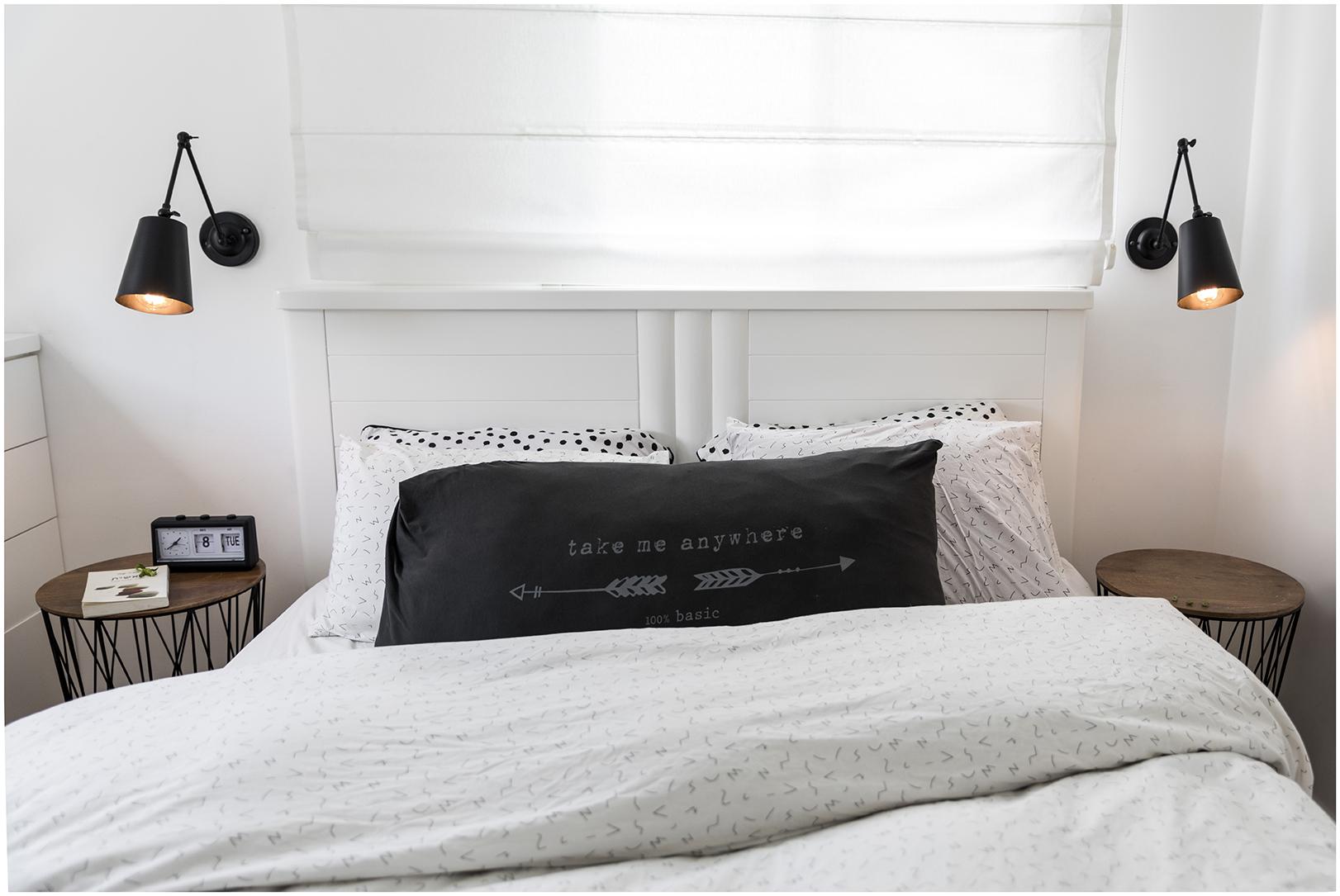 דירה בצפון תל אביב - חדר שינה הורים