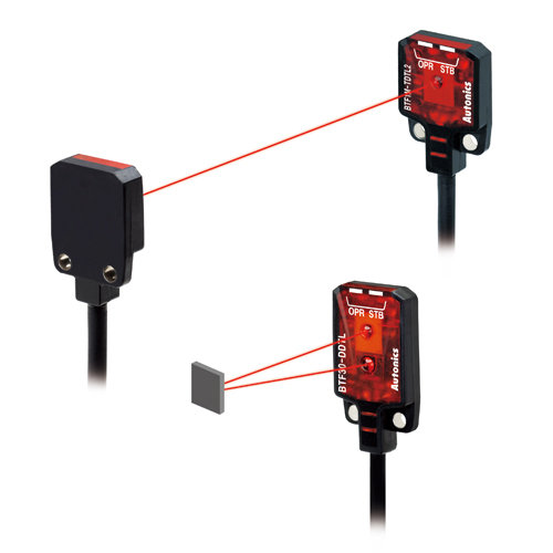 BTF1M-TDTD-P 1m 12-24VDC PNP Ultra İnce Fotosel