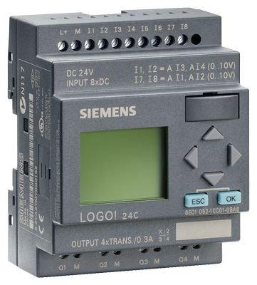 6ED1052-1CC01-0BA6 /LOGO! 24C, 8DI(4AI)/