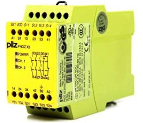 PİLZ PNOZ X3 774310  3NO+1NcSafety dual channel 24v ac/dc
