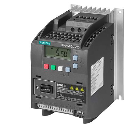 6SL3210-5BE13-7UV0 /SINAMICS V20 0,37 KW 3F/3F