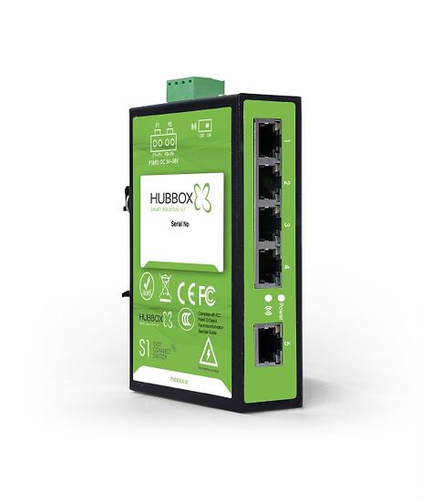 HUBBOX S1 5-Port Endüstriyel Switch Model : HUBBOX S1 5-Port