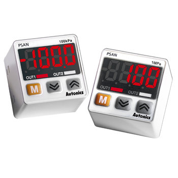 Autonics PSAN-V01CV-RC1/8 12-24VDC Dijital Basınç Sensörü