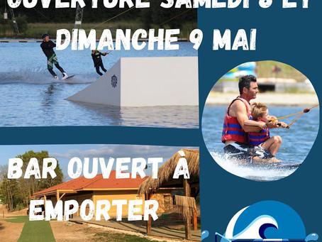 OUVERTURE - BASE DE LOISIRS GRANDBLEU -PONT-A-MOUSSON