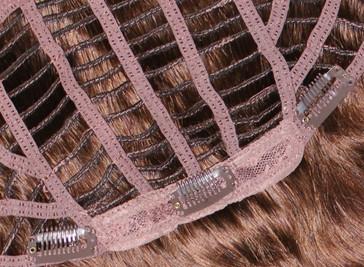 Clip-Haarteil aus Tressen