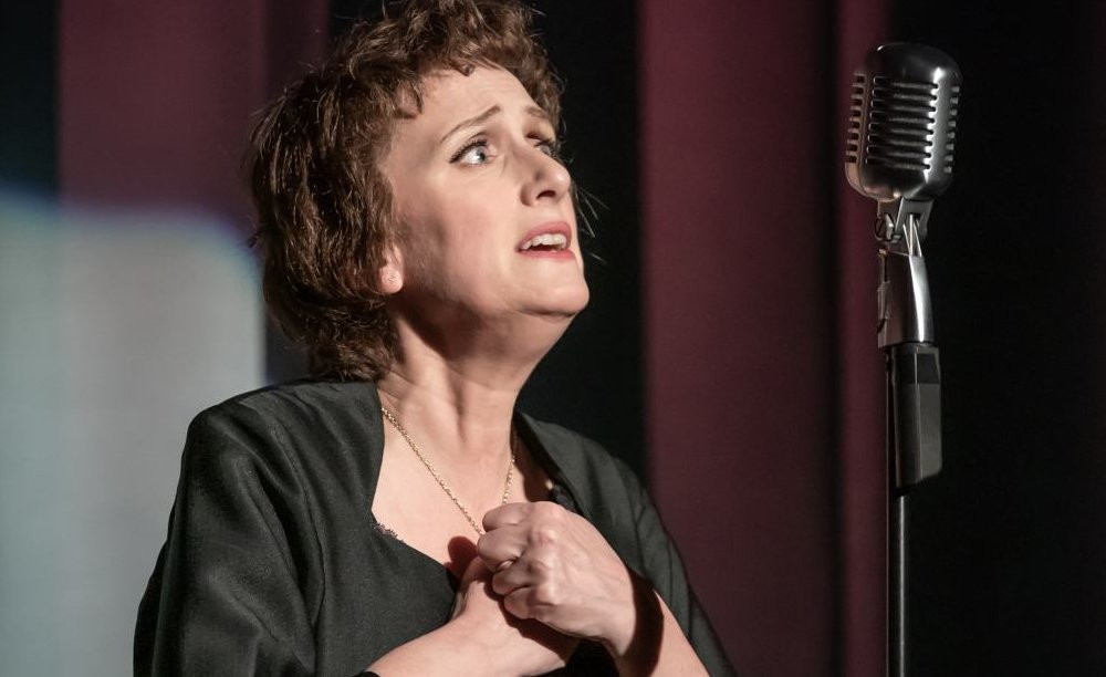Jenna Russell as Edit Piaf in Piaf at the Leeds Playhouse. All pics: Marc Brenner