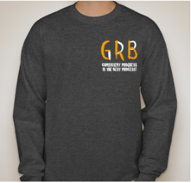 GRB Patch Long Sleeve - Dark Gray