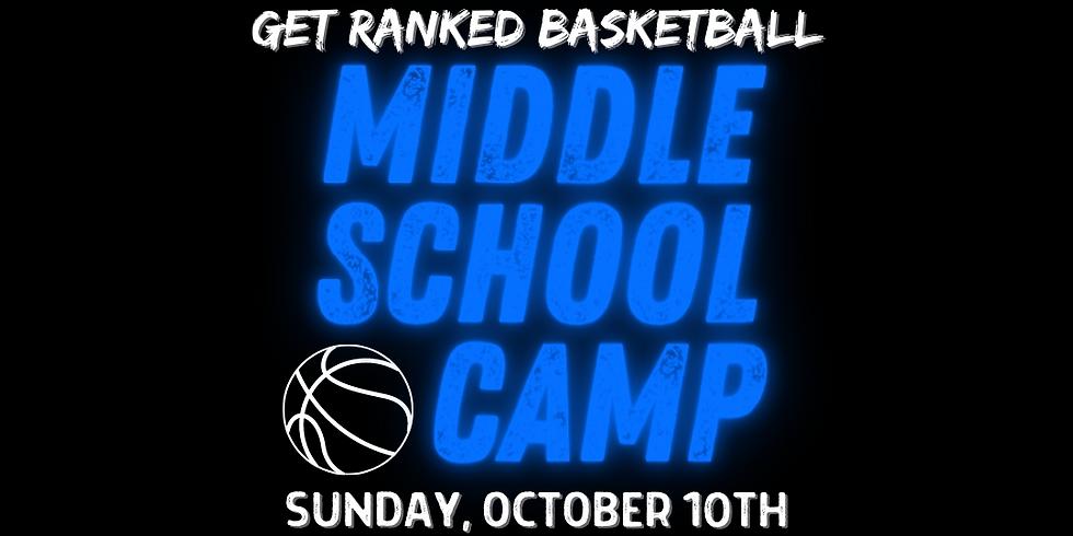 GRB Middle School Camp (6th-8th)