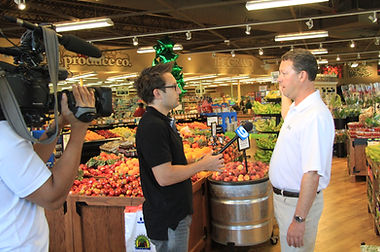 WGN-TV Covers The Grand Food Center