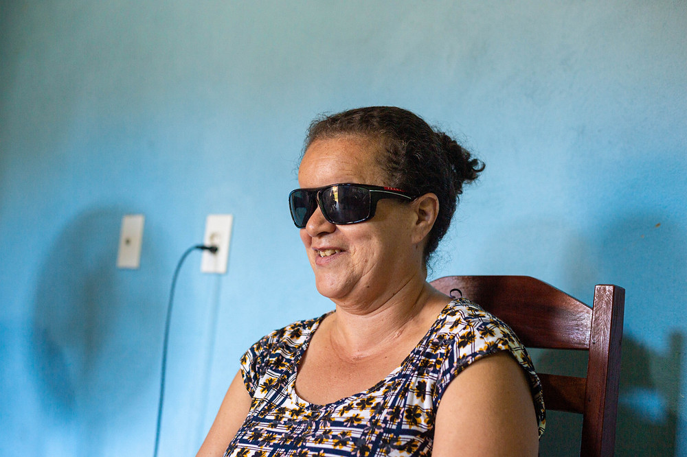 Zorionária, participante do projeto Mulheres de Visão