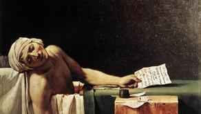 David, la Morte di Marat, 1793