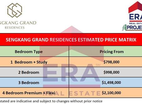 Property Review of Sengkang Grand Residences (Part 2) – Price analysis