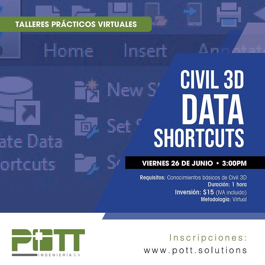 Civil 3D Data Shorcuts   VIRTUAL