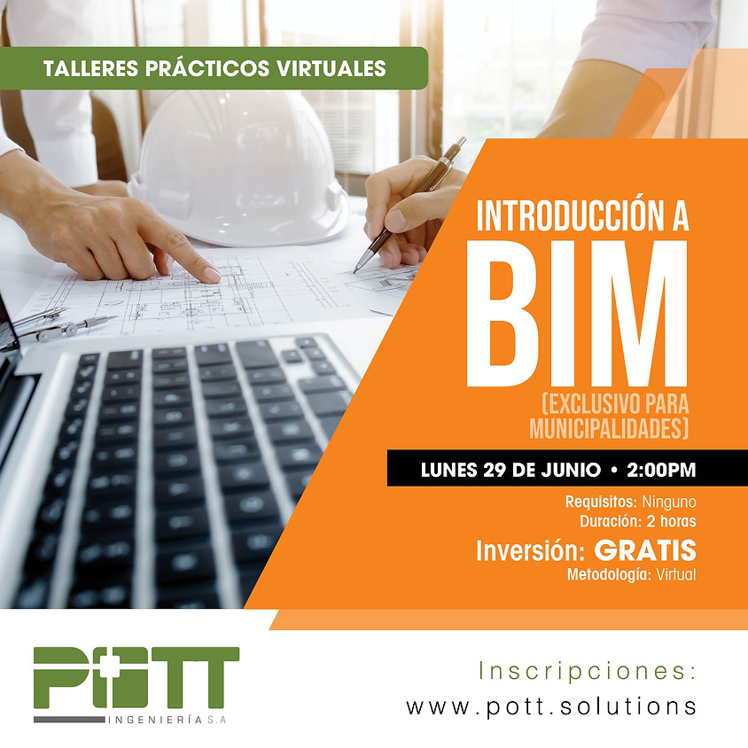 Introducción BIM | Charla GRATIS | Exclusivo para Municipalidades