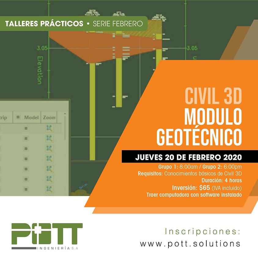 Civil 3D Modulo Geotécnico   Grupo 2