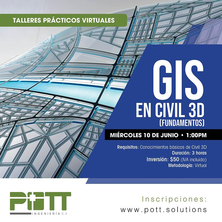 GIS en Civil 3D (fundamentos)   VIRTUAL