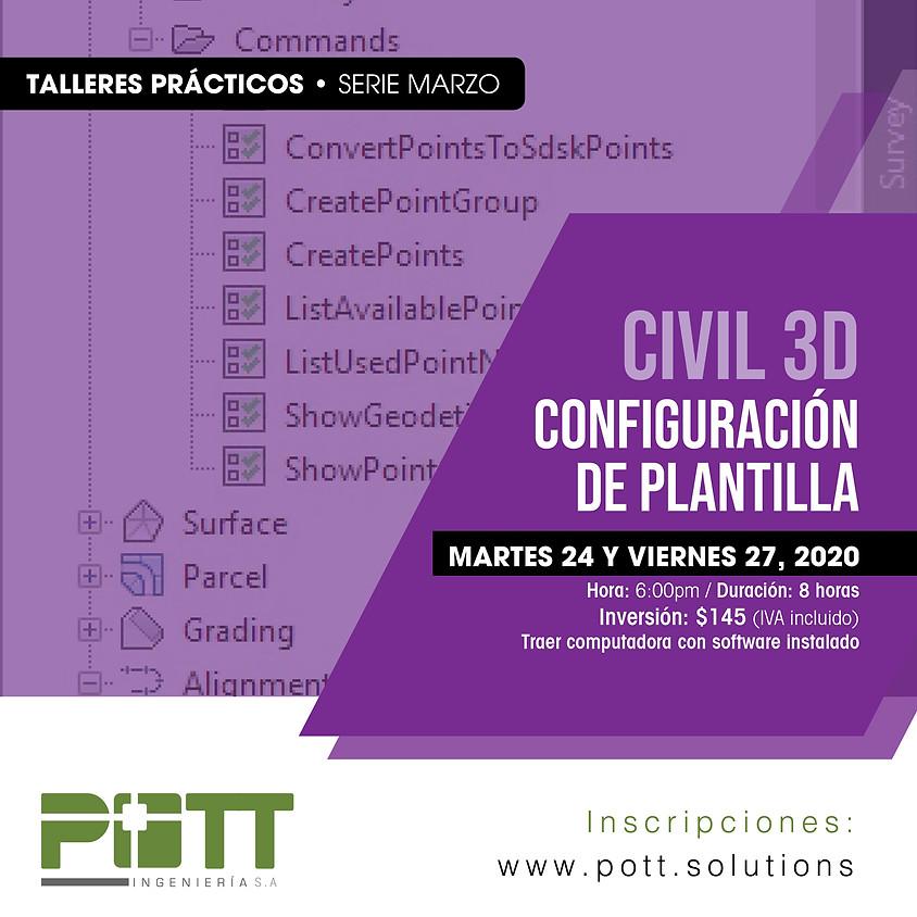 Civil 3D Configuración de Plantillas   Grupo 2