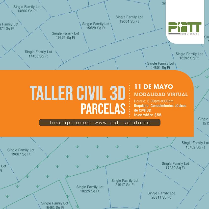 Civil 3D, Parcelas (Taller Virtual)