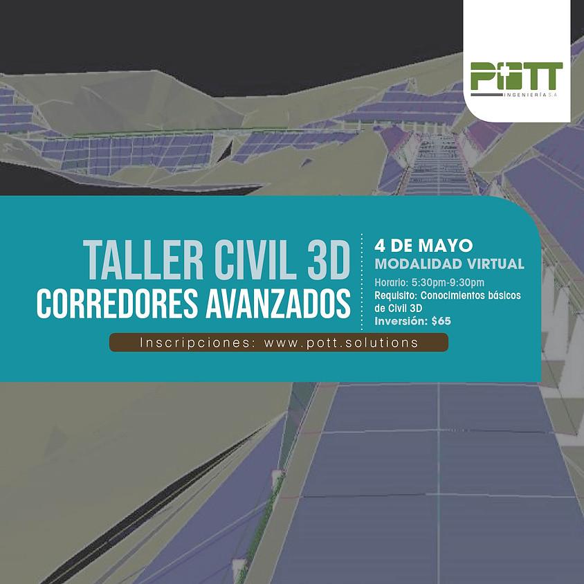 Civil 3D, Corredores (Taller Virtual)