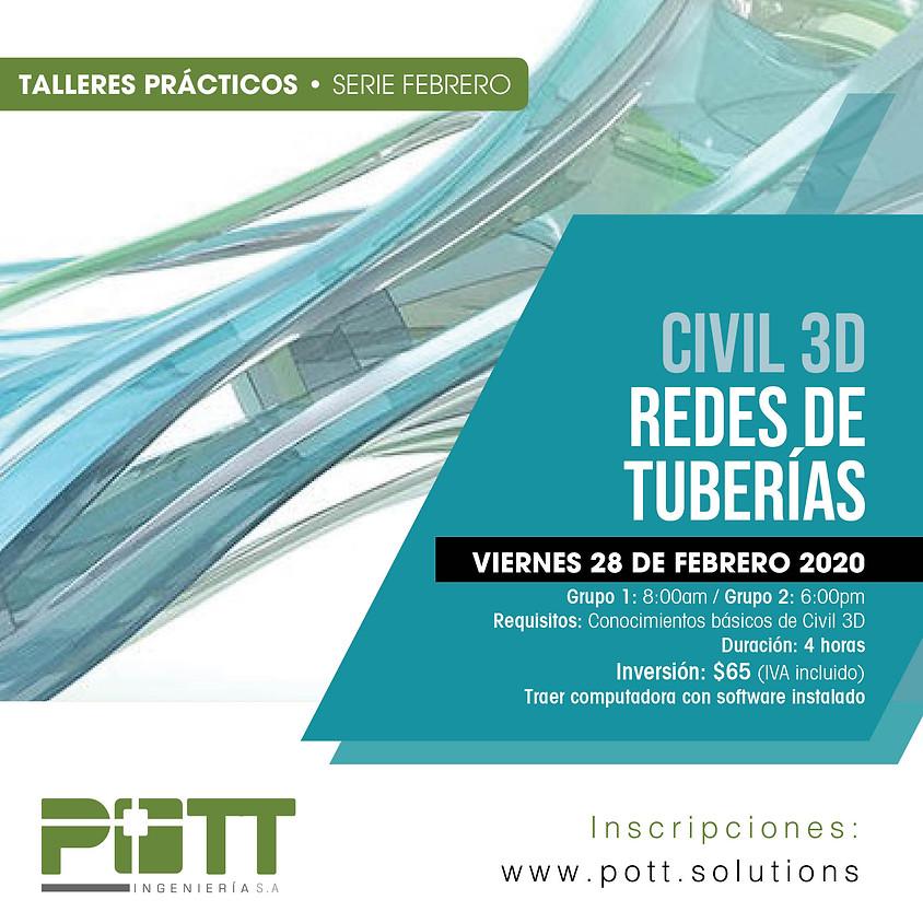 Civil 3D Redes de Tuberias | Grupo 2