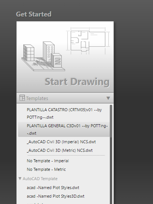 Plantilla general el Start Drawing