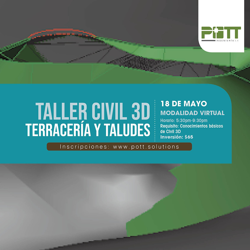 Civil 3D Terracería y Talúdes (Taller Virtual)