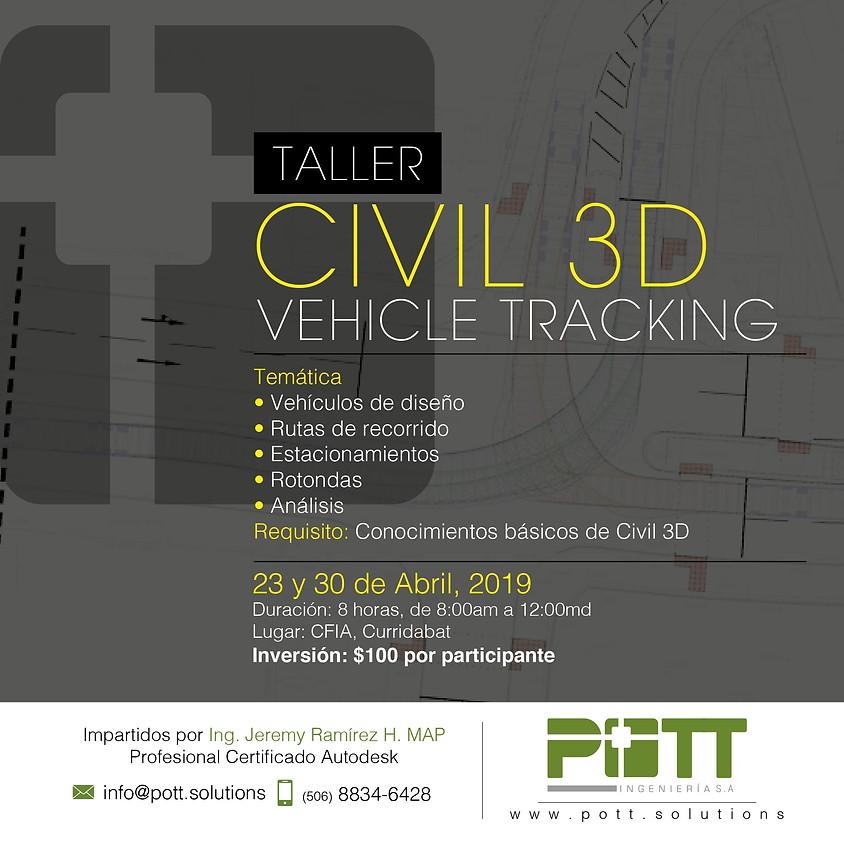 Taller, Civil 3D - Vehicle Tracking