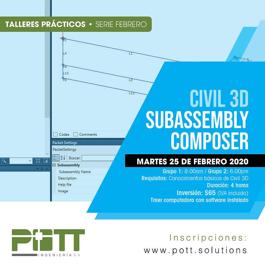 Civil 3D Subassembly Composer   Grupo 2