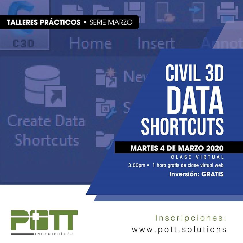 Civil 3D Data Shorcuts ( GRATIS )
